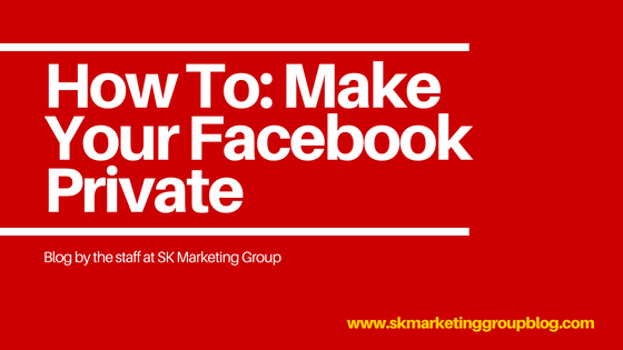 How To: Make Your Facebook Profile Private – Digital